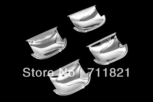 Car Styling Chrome Exterior Door Handle Cavity Cover For Volkswagen For VW Passat B6(China (Mainland))