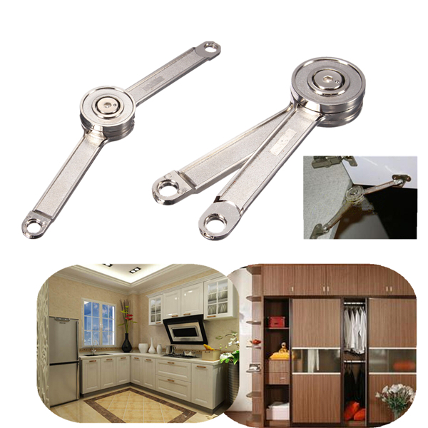 2 pcs/Lot _ Adjustable Stays Support Toy Box Hinges Lift Up Tool for Kitchen Cupboard Cabinet Door(China (Mainland))
