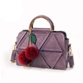 Stylish Patchwork Women Handbag Shoulder Bag Classic Design Ladies Zipper Splicing Handbag Fashion PU Handbag Shoulder
