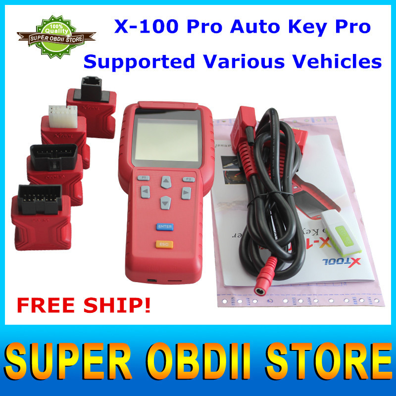Super quality Original X100 Key Programmer Handheld Device Update on Official Website X-100 Auto Key Programmer DHL Free Ship(China (Mainland))
