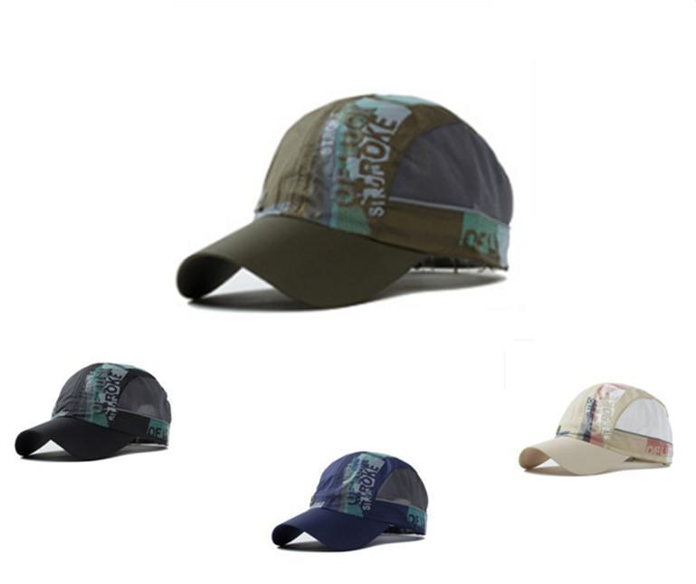 New Summer Baseball Caps Men Outdoor Sport Cap Snapback Fashion Men's Breathable sports Hats Active 2015 New(China (Mainland))