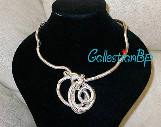 Hurry! Free Post shipping*Wear You Like Wear Twisted Necklace 900mm Length Bendable Snake Chain Flexible Twist Jewelry Necklaces(China (Mainland))