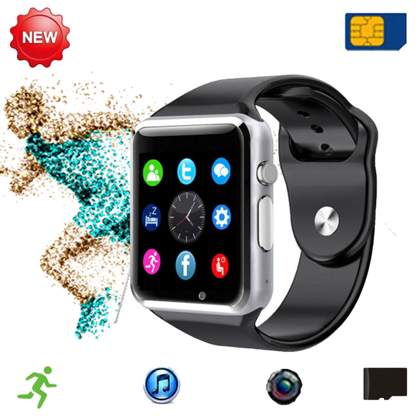 Cheap Bluetooth Smart Watch Phone with Camera SIM Call Smartwatch Health Fitness For Huawei Sony Android PK U8/DZ09/F69 Not(China (Mainland))