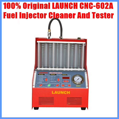 Origninal Launch CNC-602A CNC602A injector cleaner and tester With English Panel free shipping