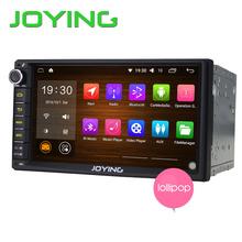 "2GB+32GB 7"" Double 2 Din Android 5.1 Universal Car Auto Radio Steering wheel control JOYING Quad Core 1024*600 HD media player(China (Mainland))"