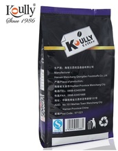 Koully black pure instant coffee without sugar and milk powder drink export 500 g a slim