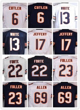Lower Price 13 Kevin White 17 Alshon Jeffery 23 Kyle Fuller 34 Walter Payton 89 Mike Ditka(China (Mainland))