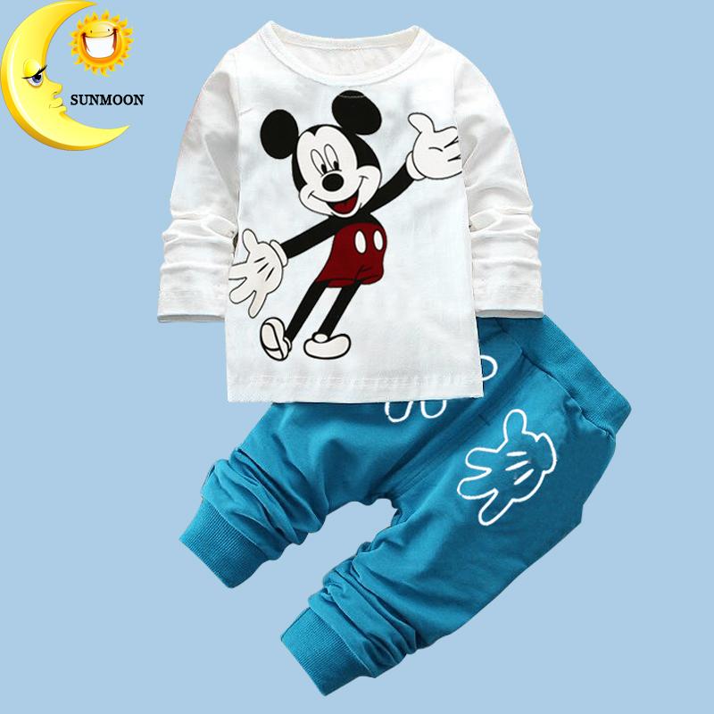 2016 winter baby gilr/boy christmas clothing set kids cartoon pattern clothes children cloth suit Infants 2pcs tops+pants(China (Mainland))