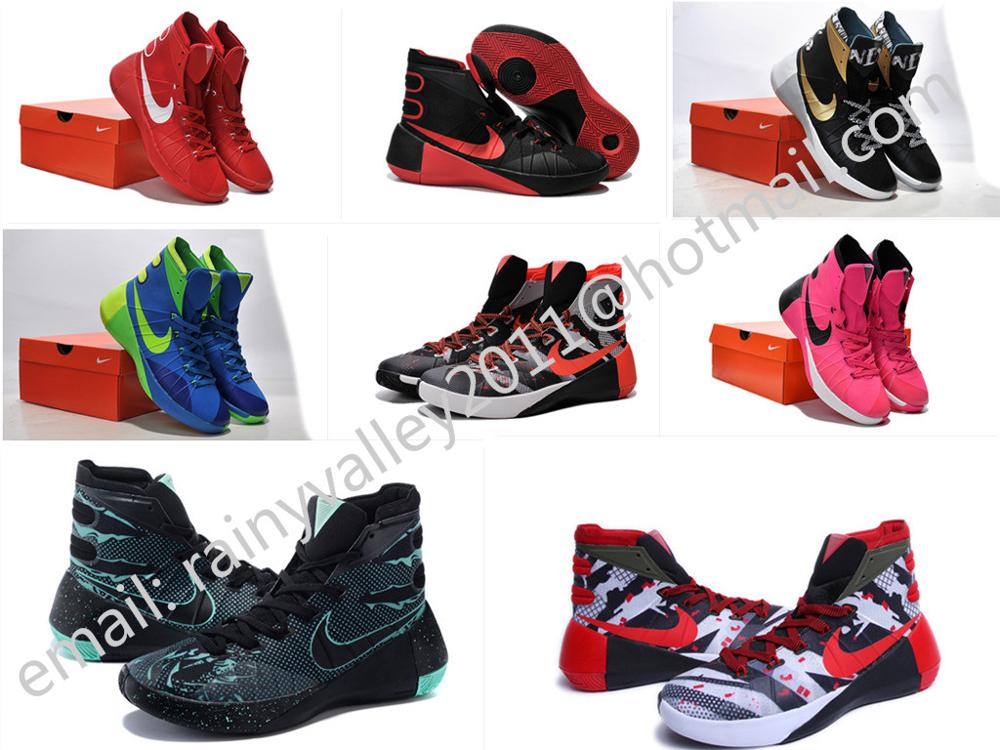 Fast shipping 2016 new hyperdunk 2015 high shoes men Eur size 40 to 46 US 7 to 8 8.5 9.5 10 11 12 with original box(China (Mainland))