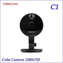 Original Foscam C1 720P HD IR Wireless P2P  IP Camera Night Vision Wide 115 Degree View Angle(China (Mainland))