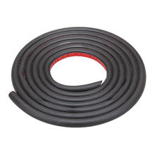 New Rubber Car Door Edge Strip Seal Hollow Trim Sound Proof Big D Shape 3.2m/10.5ft Car Sound Insulation(China (Mainland))