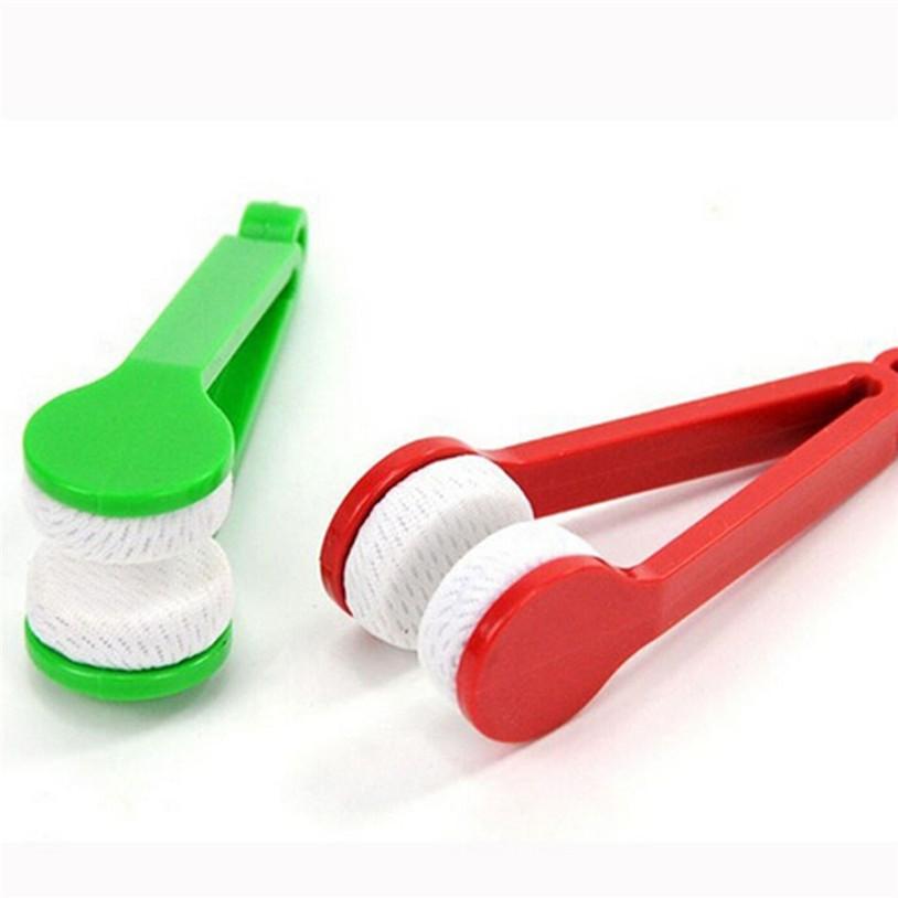 Glasses Sunglasses Eyeglass Spectacles Cleaner Cleaning Brush Wiper Wipe Kit IUT6530(China (Mainland))