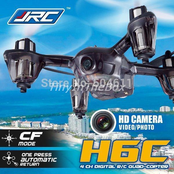 2015 JJRC H6C 4-CH 360 Flips 2.4GHz RC Quadcopter with CF Headless Mode 6-Axis Gyro 2MP FPV Camera RTF RTF<br><br>Aliexpress