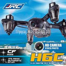 2015 JJRC H6C 4-CH 360 Flips 2.4GHz RC Quadcopter with CF Headless Mode 6-Axis Gyro 2MP FPV Camera RTF RTF