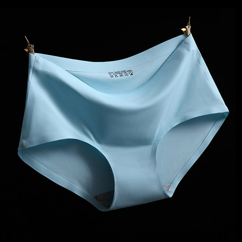 Hot High Quality Sexy Underwear Women Seamless Panties Tanga Sexy Briefs Silk Calcinha Blankholding Comfort Panties 5WH003(China (Mainland))