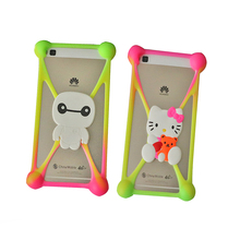 """Buy 2017 Hot Sale Fashion Universal Cartoon Silicone Phone Case For Fly Nimbus 8 FS454 FS 454 4.5"""" Cover,Stretchable,21 Styles for $1.72 in AliExpress store"""