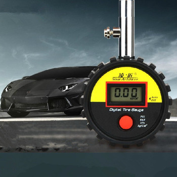 Free shipping Digital Car LCD Tyre Tire Gauge .Precision car tire pressure table for auto tyre tool JIMEI-00341