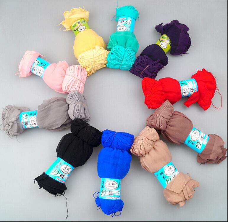 10 пар много - цвет до щиколотки высокая   simple ультра-дешевый тонкий короткая нейлон носки