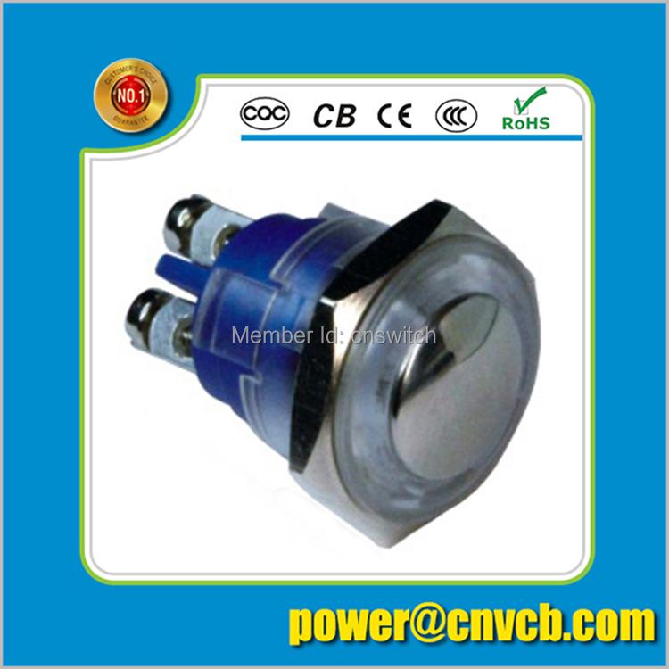 IP65 IP67 16mm Domed head momentary screw terminal plastic waterproof switch(China (Mainland))
