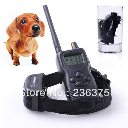 Details about Rechargeable 1000M 100% Waterproof Pet Dog Training Collar Bark Stop Hunting(China (Mainland))