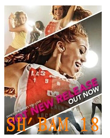 [Stock Offering]Free Shipping New Routine SHBAM 18 DVD + CD FITNESS Nice packing(China (Mainland))