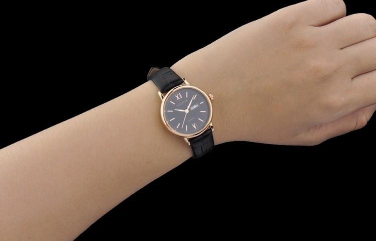 2016 WHESTCHI часы мужчины качество женский кварцевые часы кожа мода платье бизнес водонепроницаемый 30 м женщины watchwhes