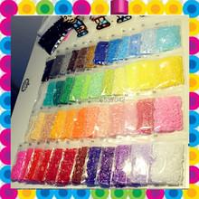 Mini 2.6mm mini hama perlen 24000 stück 48 farben eingestellt pe perler perlen für diy handgemachte Bildung handwerk(China (Mainland))