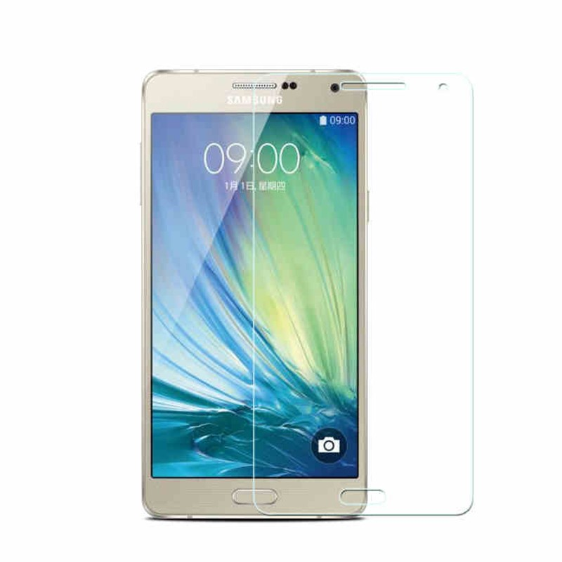 2.5D 0.3mm 9H Premium Tempered Glass for Samsung Galaxy A3 A5 A7 Screen Anti Shatter Protector Film case cover