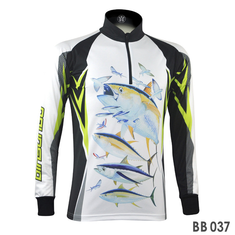 Sport fishing clothing for men sun protection breathable for Men s fishing apparel