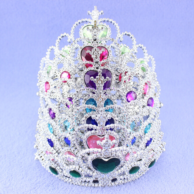 New Year Children Party Supplies Accessories Crown Princess Crown Hair Accessories For Girls(China (Mainland))