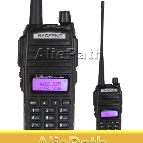 2014 NEW ! Long Range Baofeng UV-82 Dual Band VHF 136 - 174MHz / UHF 400 - 520 MHz FM Transceiver Walkie Talkie Two Way Radio(China (Mainland))