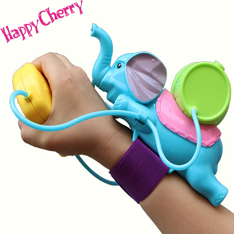 Happy Cherry Interesting Spraying Blue Elephant Baby Bath Toy Summer Beach Toy For Children Kids Water Spraying Tool(China (Mainland))