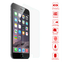 "For iphone 6 0.26mm Premium Tempered Glass Screen Protector Toughened Protective Film Fundas For iPhone 6 6s plus 4.4"" 5.5"""