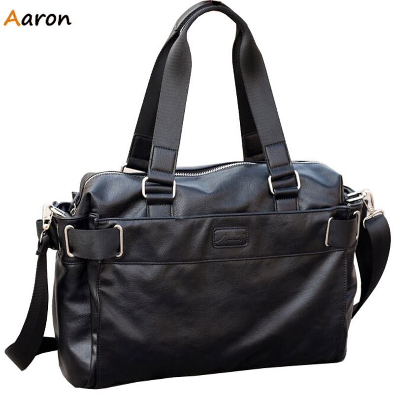 Aaron - Brand New Fashion Male Europe & America Style Men Travel Bags,Single Long Shoulder Belt Travel Man Bag,Business Bolsas(China (Mainland))