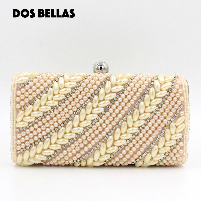High Quality Clutch Handbags Pearl Diamonds Evening Bags Best Valentin Bags Bolsos Mujeres fh11(China (Mainland))