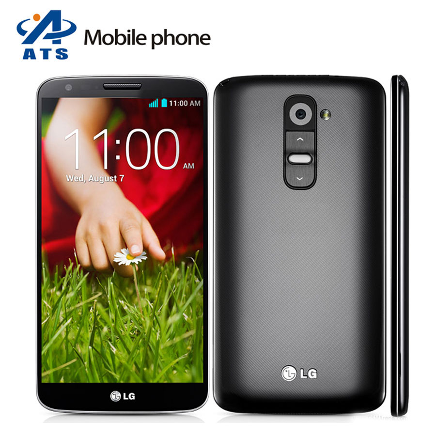 "Original LG G2 D802 D800 Ls980 F320 Mobile Phone Quad Core Android 4.2 13MP 5.2"" IPS 2GB RAM 16GB ROM Free Shipping(China (Mainland))"