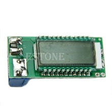 Free Shipping Lithium Li-ion 18650 battery tester Capacity Current Voltage Detector LCD meter(China (Mainland))