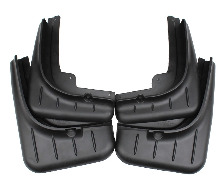 free shipping Accessories for Porsche Macan Mud flaps splash guards 2014 2015 year(China (Mainland))