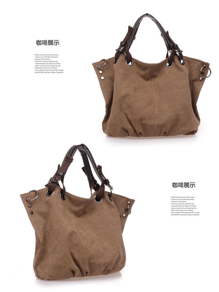Bolsa De Ombro Masculina Vintage : New bolsas femininas women handbag canvas