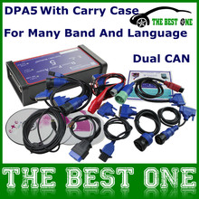 Super CNH DPA 5 Diesel Truck Diagnostic Scanner Full Set DPA5 Dearborn Protocol Adapter 5 Commercial Maintence Better Than Nexiq(China (Mainland))