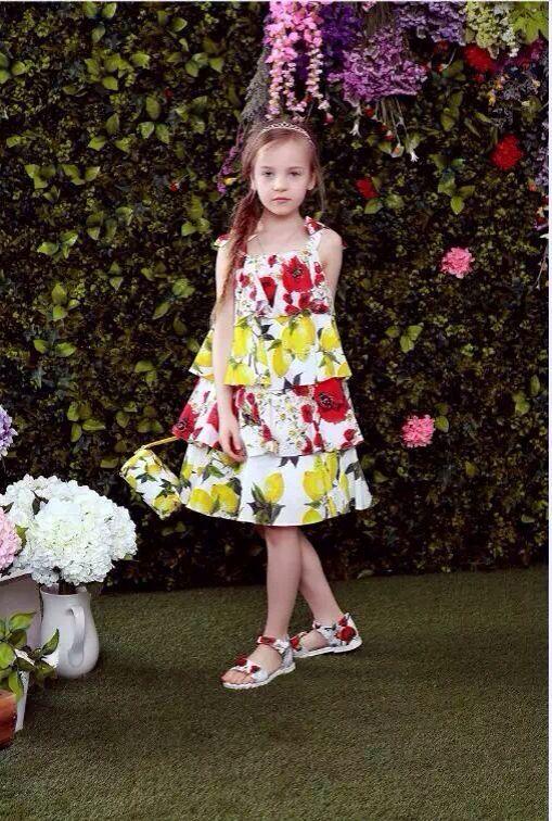 Скидки на Лето 2016 girlscotton платье муссон