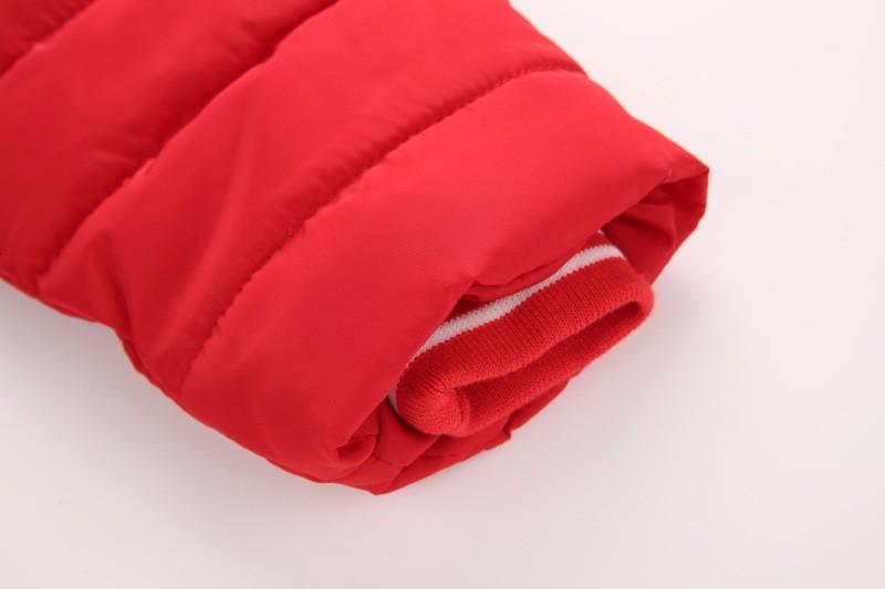Скидки на 2016 зима новый детская одежда девочек хлопка-проложенный одежды пуховик удлиняется толстый слой