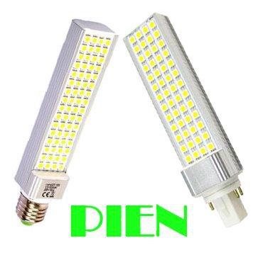 G24 E27 pl led Lamp bombillas 12W 220V 110V LED downlight lampara ampoule luz branco warm white Energy saving Free shipping 1pcs(China (Mainland))