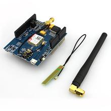 SIM800C Elecrow GSM GPRS Щит для Arduino Щит DIY Kit Доска Развития С Антенной Испытания По Всему Миру Магазин SIM900 Модуль(China (Mainland))