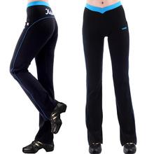 free shipping Pants female dance Yoga Fitness square dance pants running pants tight stretch pants sweat(China (Mainland))