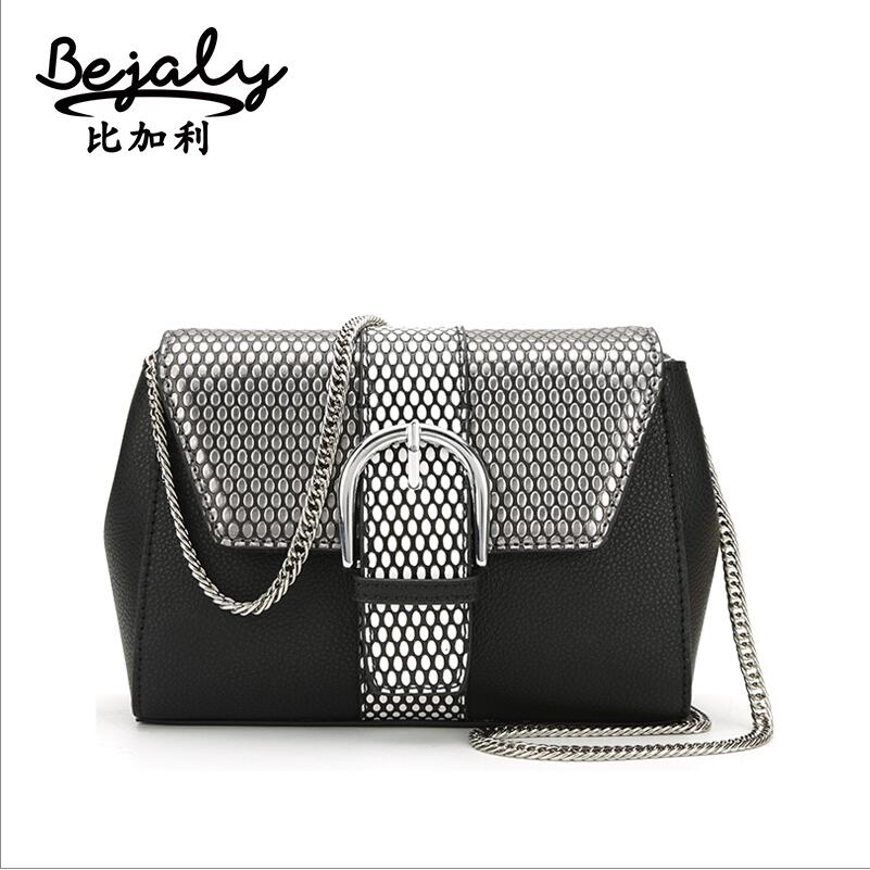 Famous brand top quality dermis women bag  Wave point flip cover chain bag Fashion Shoulder Messenger Bag Small square package<br><br>Aliexpress