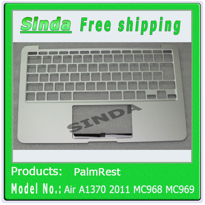 "Brand New For MacBook Air 11"" A1370 2011 MC968 MC969 palmrest Top case & Japanese Layout,(No Touchpad & keyboard)(China (Mainland))"
