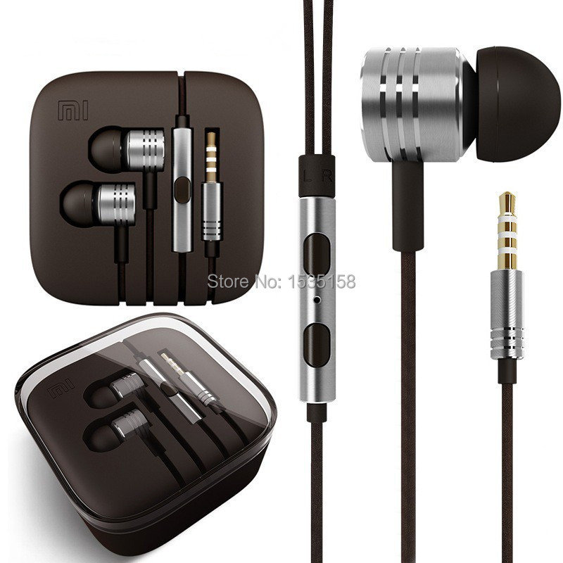 High Quality Earphones Stereo 3.5mm Jack Bass In Ear noise isolating Headphones MP3 MP4 and Android Mobile Phone MIC Headsets