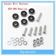 Kossel Mini Rostock 3D Printer 625-2RS Bearing for Filament Spool Mount & Guide