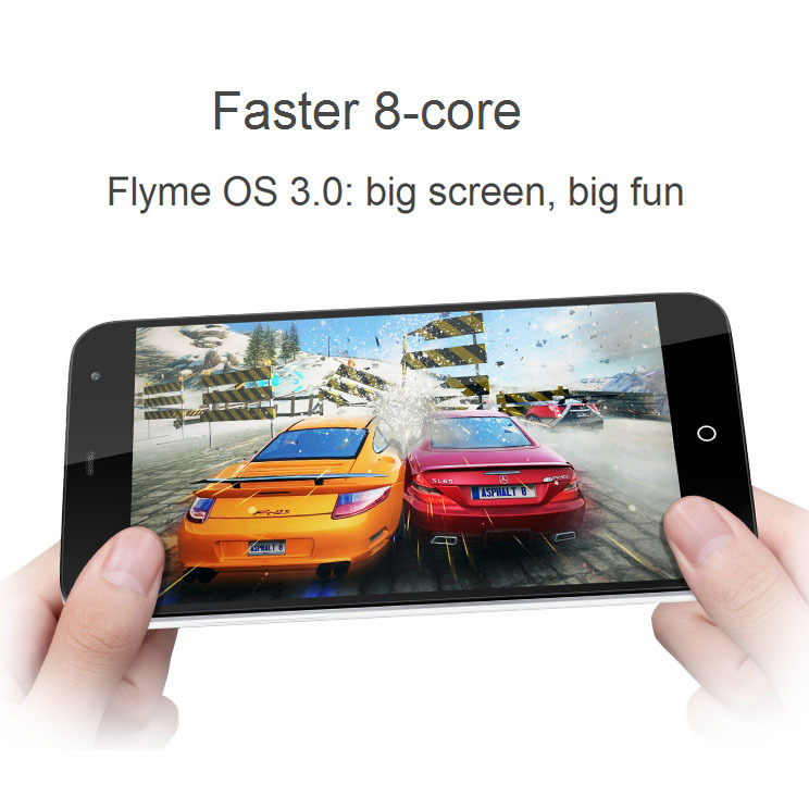 Meizu MX3 5 1 inch 3G Android 4 2 Phablet 8 Core Flyme OS 3 0